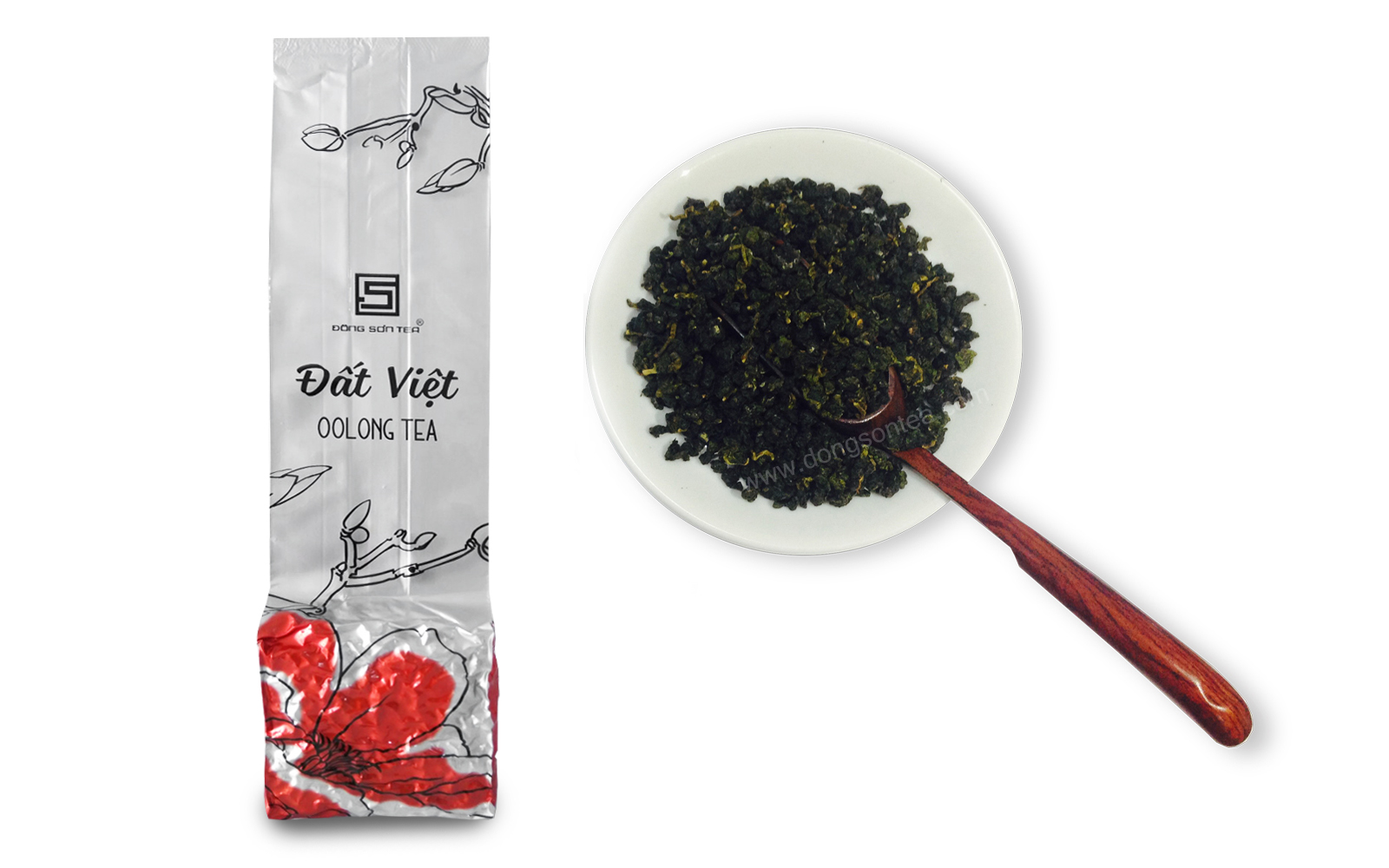 Dat viet oolong tea grade A( bag 100gr)