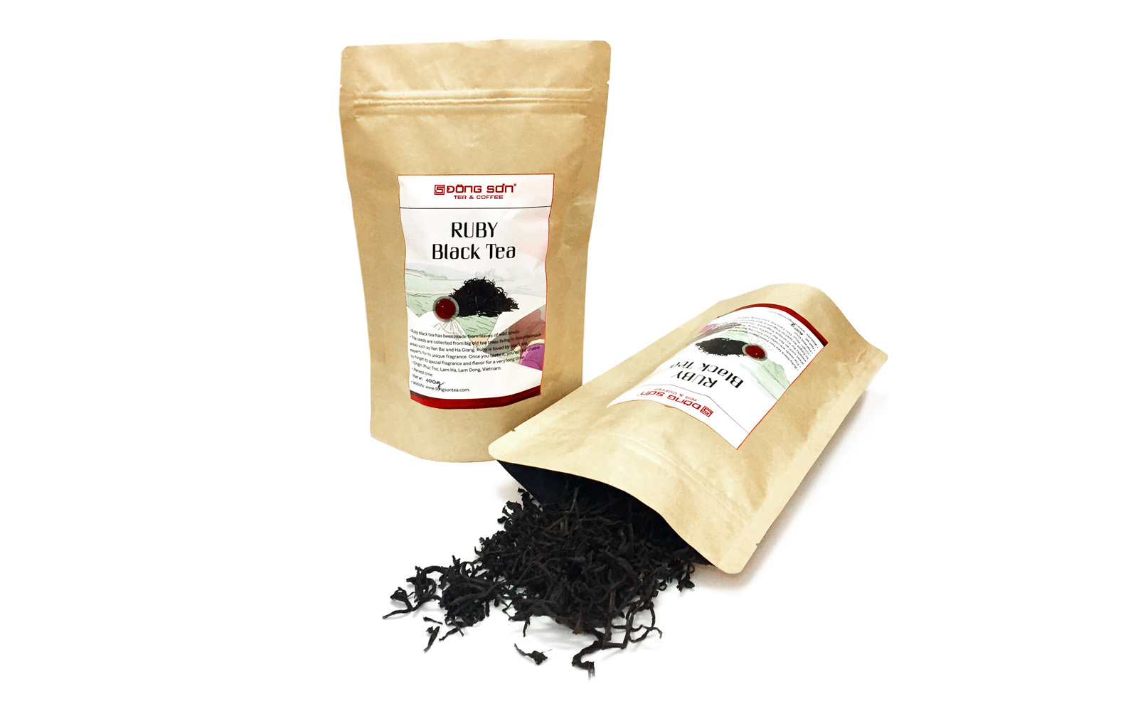 Ruby Black Tea ( bag 50gr)