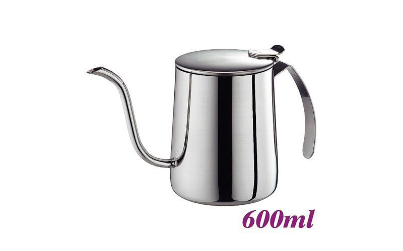 Stainless steel coffee pot 600ml